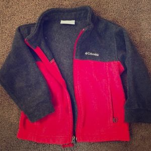 Grey & Red Columbia 2T jacket